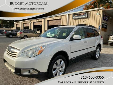 2011 Subaru Outback for sale at Budget Motorcars in Tampa FL