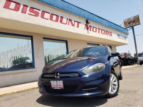 2014 Dodge Dart for sale at Discount Motors in Pueblo CO