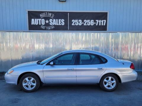 2003 Ford Taurus for sale at Austin's Auto Sales in Edgewood WA