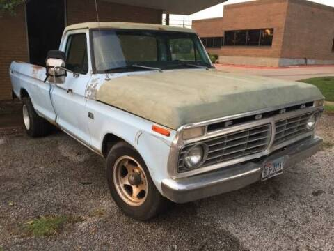 1975 Ford F-150 for sale at Classic Car Deals in Cadillac MI