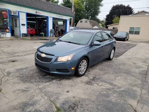 2012 Chevrolet Cruze for sale at MOE MOTORS LLC in South Milwaukee WI