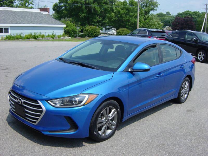 2017 Hyundai Elantra for sale at North South Motorcars in Seabrook NH