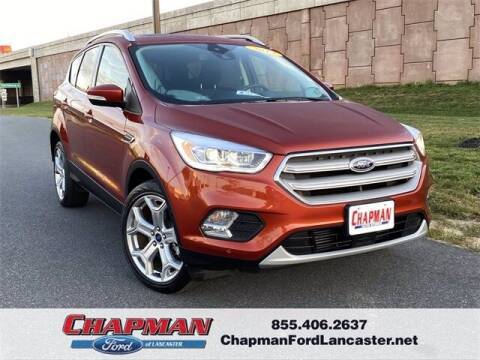 2019 Ford Escape for sale at CHAPMAN FORD LANCASTER in East Petersburg PA