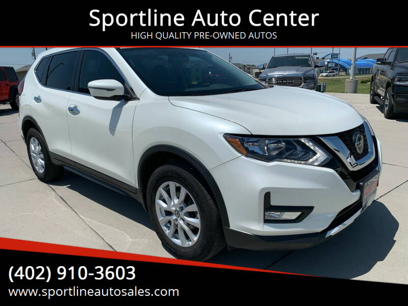2018 Nissan Rogue for sale at Sportline Auto Center in Columbus NE