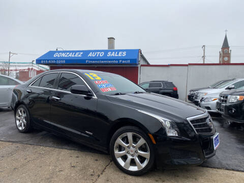 2013 Cadillac ATS for sale at Gonzalez Auto Sales in Joliet IL