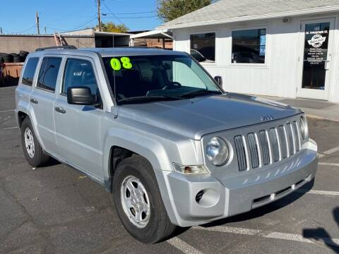 2008 Jeep Patriot for sale at Robert Judd Auto Sales in Washington UT