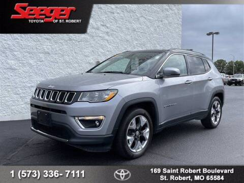2019 Jeep Compass for sale at SEEGER TOYOTA OF ST ROBERT in Saint Robert MO