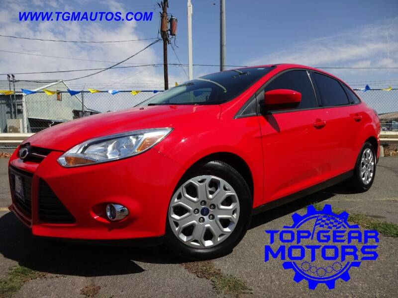 2012 Ford Focus for sale at Top Gear Motors in Union Gap WA