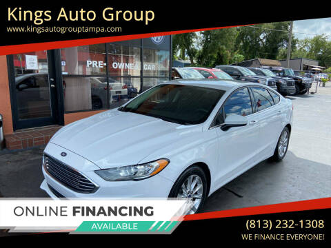 2017 Ford Fusion for sale at Kings Auto Group in Tampa FL