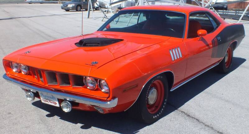 1971 Plymouth Barracuda for sale at Kenny's Auto Wrecking - Kar Ville- Ready To Go in Lima OH