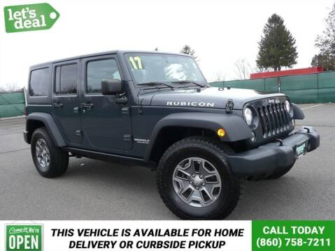 2017 Jeep Wrangler Unlimited for sale at Shamrock Motors in East Windsor CT