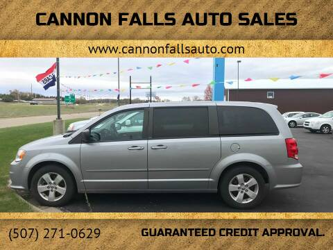 2013 Dodge Grand Caravan for sale at Cannon Falls Auto Sales in Cannon Falls MN