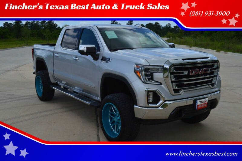 2019 GMC Sierra 1500 for sale at Fincher's Texas Best Auto & Truck Sales in Tomball TX