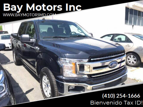 2019 Ford F-150 for sale at Bay Motors Inc in Baltimore MD