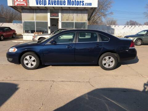 2010 Chevrolet Impala for sale at Velp Avenue Motors LLC in Green Bay WI