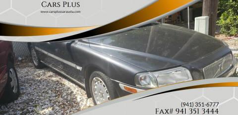 2000 Volvo S80 for sale at Cars Plus in Sarasota FL