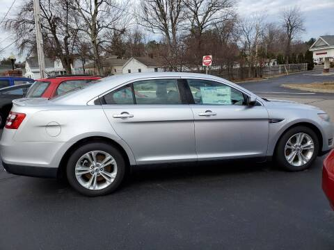2013 Ford Taurus for sale at R C Motors in Lunenburg MA