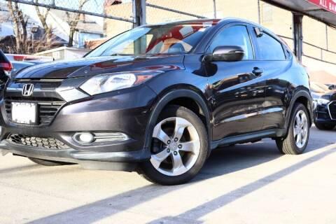 2017 Honda HR-V for sale at HILLSIDE AUTO MALL INC in Jamaica NY