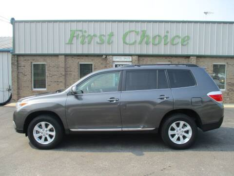 2011 Toyota Highlander for sale at First Choice Auto in Greenville SC