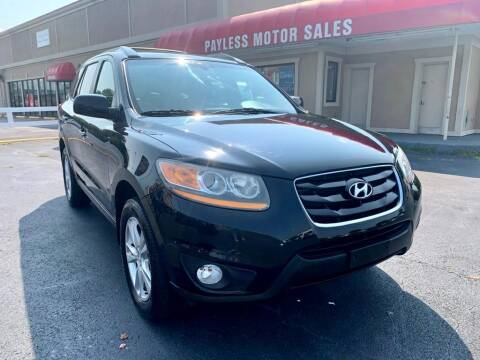 2011 Hyundai Santa Fe for sale at Payless Motor Sales LLC in Burlington NC