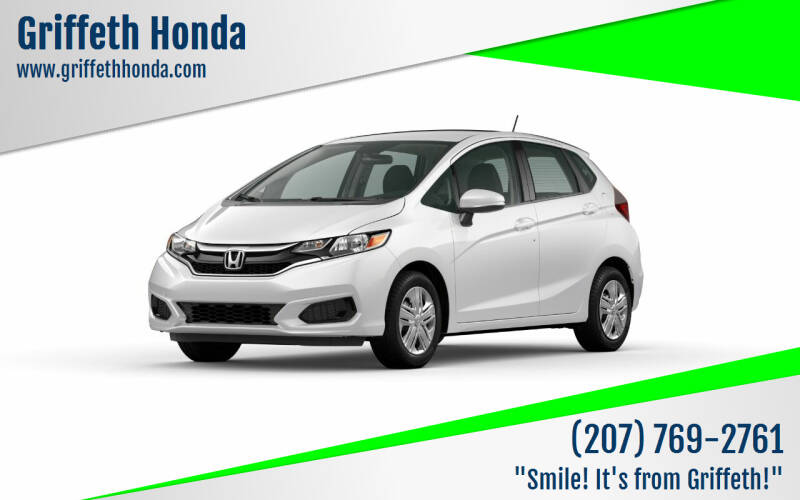 2020 Honda Fit for sale at Griffeth Honda in Presque Isle ME