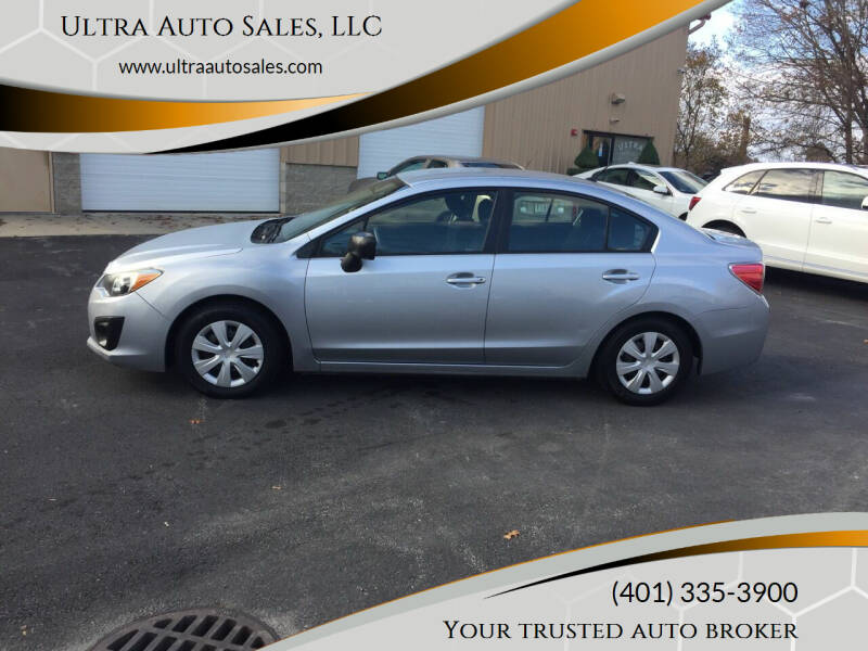 2013 Subaru Impreza for sale at Ultra Auto Sales, LLC in Cumberland RI