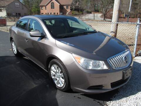 2012 Buick LaCrosse for sale at Old Time Auto Sales, Inc in Milford MA
