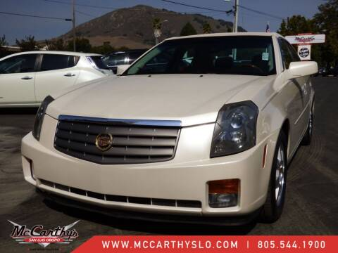 2005 Cadillac CTS for sale at McCarthy Wholesale in San Luis Obispo CA