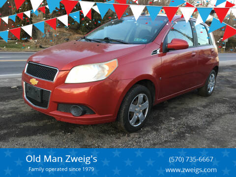 2009 Chevrolet Aveo for sale at Old Man Zweig's in Plymouth Township PA