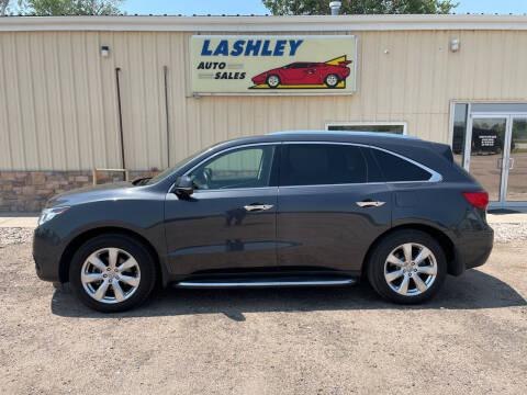 2016 Acura MDX for sale at Lashley Auto Sales - Scotts Bluff NE in Scottsbluff NE