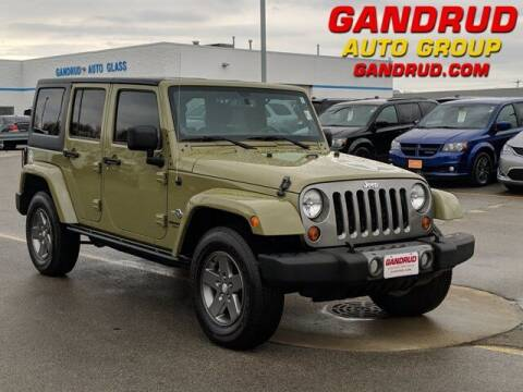 2013 Jeep Wrangler Unlimited for sale at Gandrud Dodge in Green Bay WI