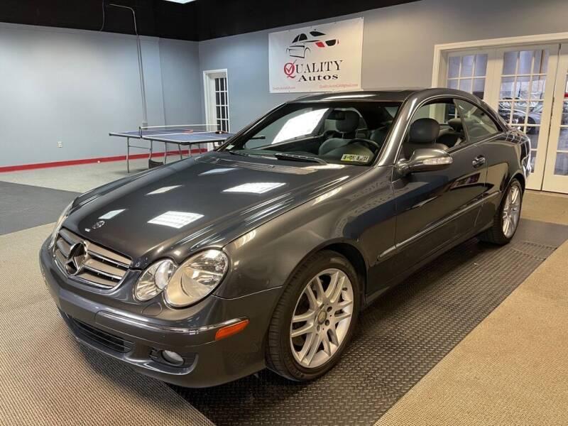 2008 Mercedes-Benz CLK for sale at Quality Autos in Marietta GA