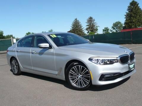 2018 BMW 5 Series for sale at Shamrock Motors in East Windsor CT