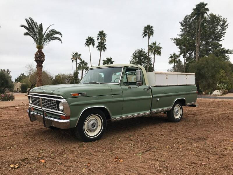 1970 Ford F-100 for sale at Enthusiast Motorcars of Texas in Rowlett TX