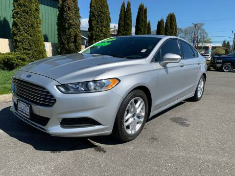 2015 Ford Fusion for sale at AUTOTRACK INC in Mount Vernon WA