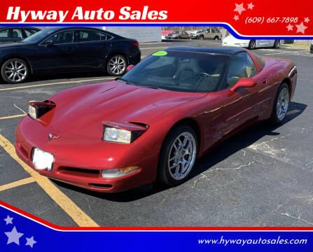 2004 Chevrolet Corvette for sale at Hyway Auto Sales in Lumberton NJ