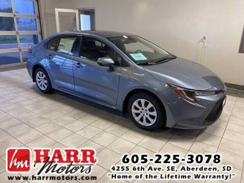 2022 Toyota Corolla for sale at Harr's Redfield Ford in Redfield SD