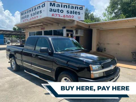 2003 Chevrolet Silverado 1500 for sale at Mainland Auto Sales Inc in Daytona Beach FL