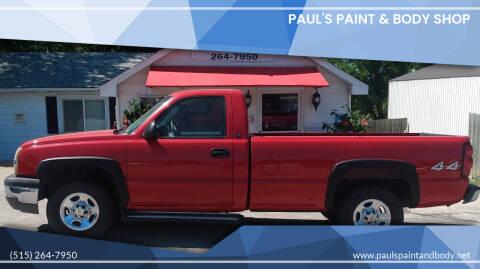 2004 Chevrolet Silverado 1500 for sale at PAUL'S PAINT & BODY SHOP in Des Moines IA