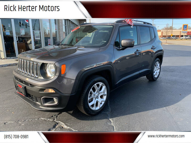 2017 Jeep Renegade for sale at Rick Herter Motors in Loves Park IL
