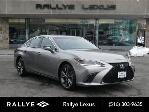 2019 Lexus ES 350 for sale at RALLYE LEXUS in Glen Cove NY