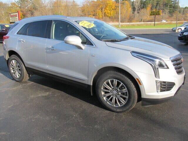 2017 Cadillac XT5 for sale at Thompson Motors LLC in Attica NY