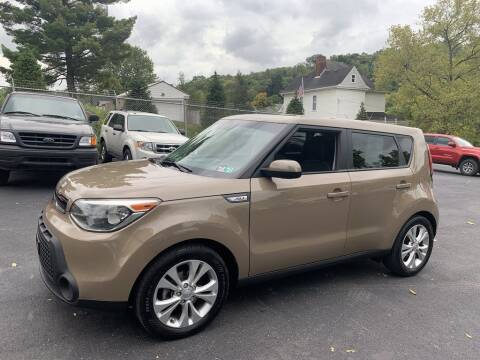 2015 Kia Soul for sale at Premiere Auto Sales in Washington PA