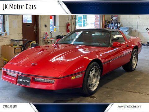 1989 Chevrolet Corvette for sale at JK Motor Cars in Pittsburgh PA