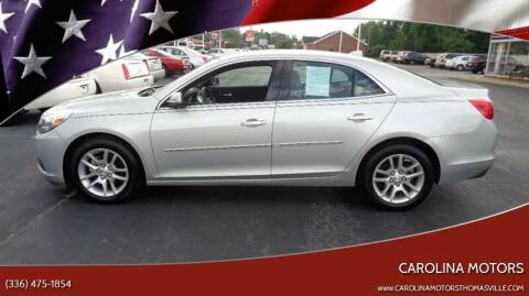2013 Chevrolet Malibu for sale at CAROLINA MOTORS in Thomasville NC