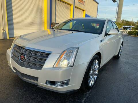 2008 Cadillac CTS for sale at RoMicco Cars and Trucks in Tampa FL