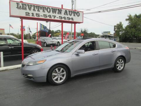 2012 Acura TL for sale at Levittown Auto in Levittown PA