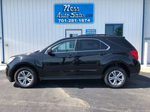 2014 Chevrolet Equinox for sale at NESS AUTO SALES in West Fargo ND