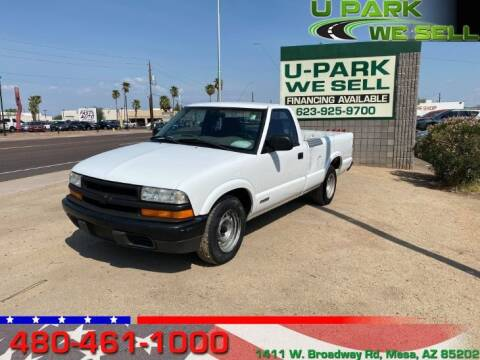 2000 Chevrolet S-10 for sale at UPARK WE SELL AZ in Mesa AZ