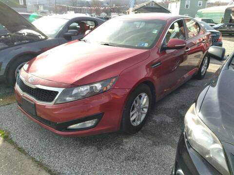 2012 Kia Optima for sale at Sissonville Used Cars in Charleston WV
